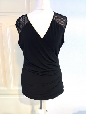 Calvin Klein Mesh Shirt black