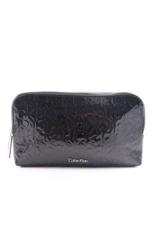 Calvin Klein Clutch schwarz Allover-Druck Casual-Look