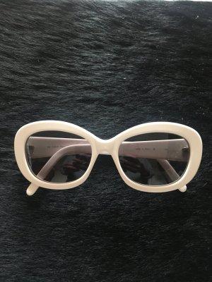 Calvin Klein Butterfly Glasses white acetate