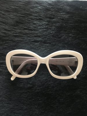 Calvin Klein Gafas mariposa blanco acetato