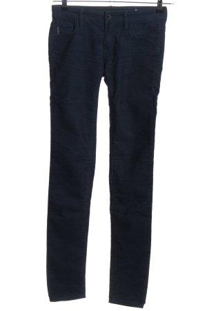 Calvin Klein Cordhose blau Casual-Look