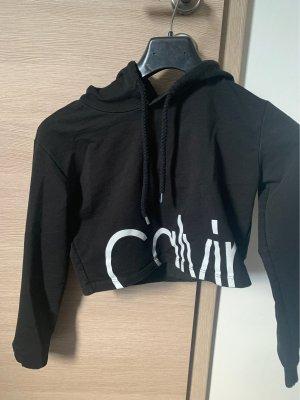 Calvin Klein Pull court noir-blanc