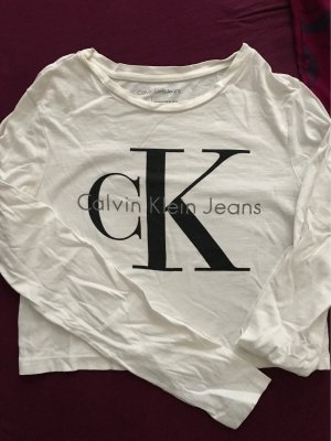 Calvin Klein cropped Longshirt