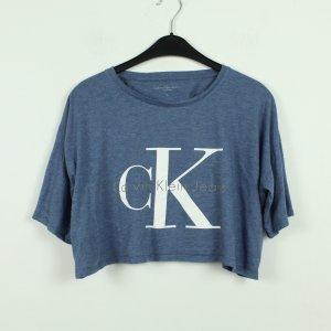 CALVIN KLEIN Cropped Shirt Gr. M (21/08/051*)