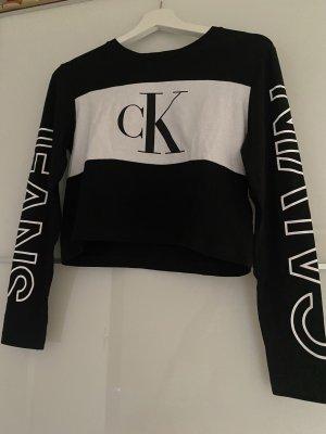 Calvin Klein T-shirt court noir-blanc