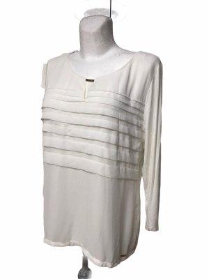 Calvin Klein Damem Bluse Top Weiß XL