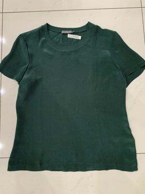 Calvin Klein Bluzka o kroju koszulki leśna zieleń