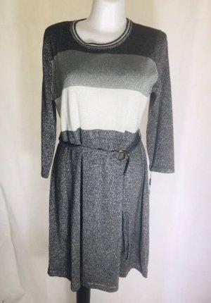 Calvin Klein Damen Kleid Silber Grau Neu Gr XL