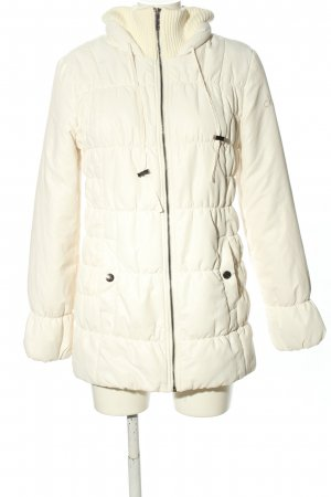 Calvin Klein Down Jacket white quilting pattern casual look