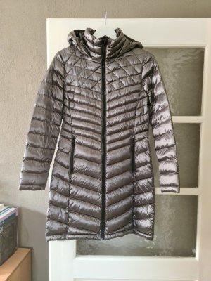 Calvin Klein Płaszcz puchowy srebrny-szary
