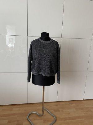Calvin Klein Designer Pullover S kurz grau Damen top Zustand