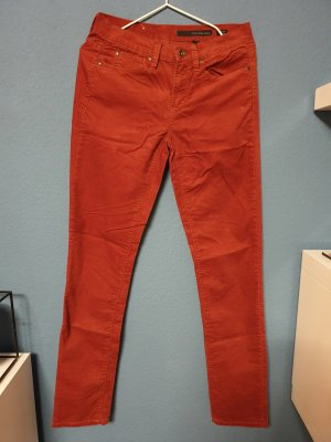 Calvin Klein Jeans Low-Rise Trousers russet