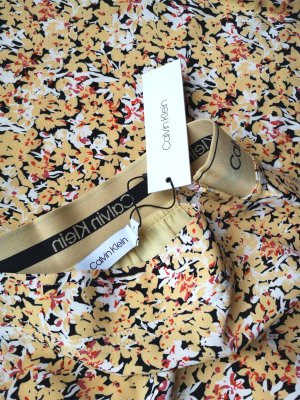 Calvin Klein Jupe mi-longue jaune