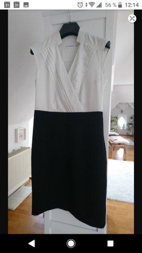 Calvin Klein Abito aderente nero-bianco