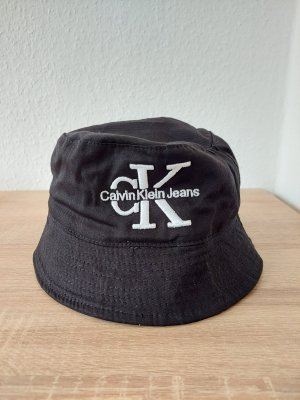 Calvin Klein Jeans Sombrero de cubo negro-blanco