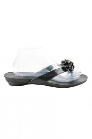 Calvin Klein Zehentrenner-Sandalen schwarz Casual-Look