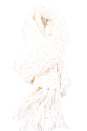 Calvin Klein Sciarpa con frange crema stile casual