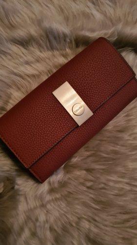 Calvin Klein Portefeuille brun-cognac