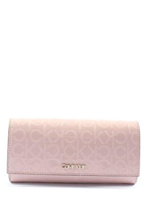 Calvin Klein Geldbörse pink Motivdruck Casual-Look