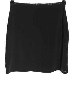 Calvin Klein Klokrok zwart casual uitstraling