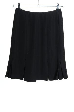 Calvin Klein Rozkloszowana spódnica czarny W stylu biznesowym
