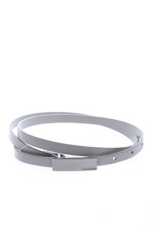 Calvin Klein Boucle de ceinture argenté-gris clair style décontracté