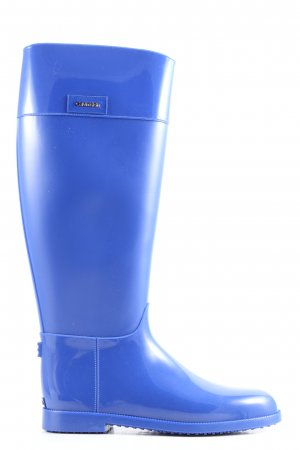 Calvin Klein Gummistiefel blau Casual-Look