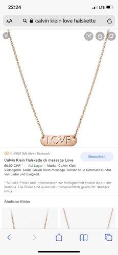Calvin Klein Jewellery Set rose-gold-coloured