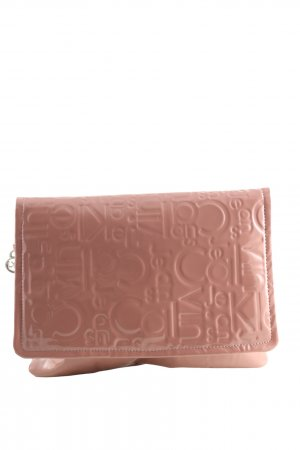 Calvin Klein Clutch pink Allover-Druck Casual-Look