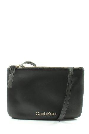 Calvin Klein Handtas zwart zakelijke stijl