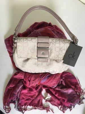 Calvin Klein Handtasche rose schimmernd