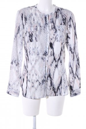 Calvin Klein Hemd-Bluse Allover-Druck Casual-Look