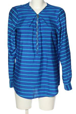 Calvin Klein Hemd-Bluse blau Streifenmuster Casual-Look