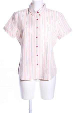 Calvin Klein Hemd-Bluse pink-weiß Streifenmuster Casual-Look