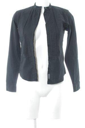 Calvin Klein Hemd-Bluse schwarz Casual-Look
