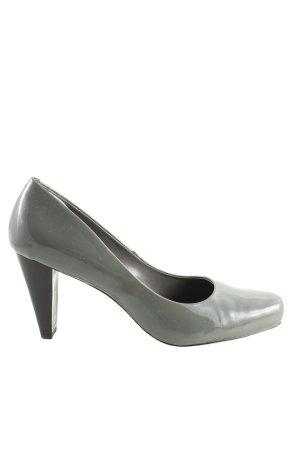 Calvin Klein High Heels hellgrau Business-Look