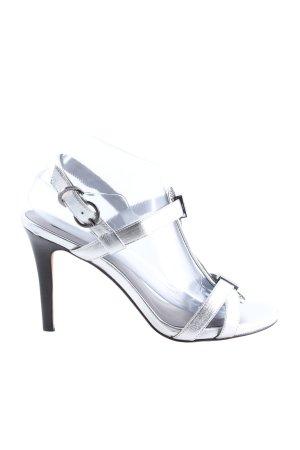 Calvin Klein High Heels silberfarben Elegant