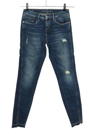 Calvin Klein High Waist Jeans blau Casual-Look