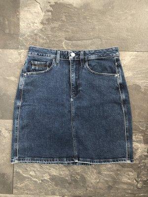 Calvin Klein Jeans Jupe en jeans bleu
