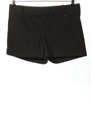 Calvin Klein Pantalón corto de talle alto negro look casual