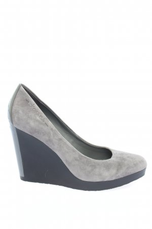 Calvin Klein Wedge Pumps light grey casual look