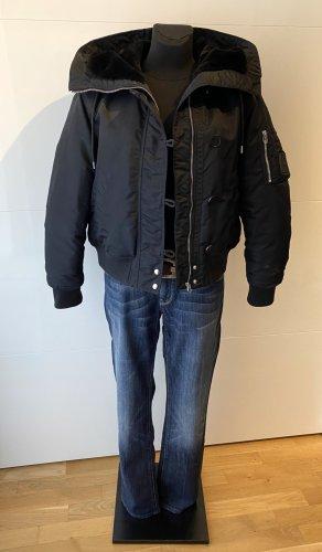 Calvin Klein Bomberjack zwart Polyamide