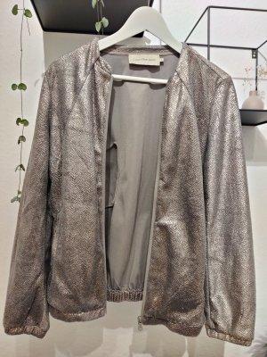 Calvin Klein Jeans Krótka kurtka złoto-ciemnoszary