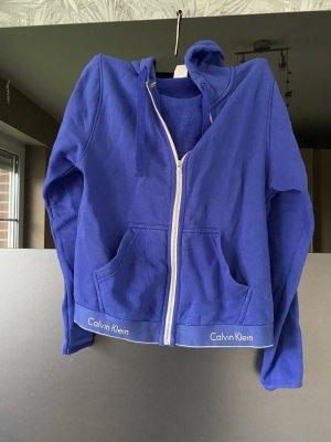 Calvin Klein Giacca fitness blu