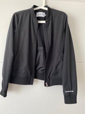 Calvin Klein Jeans Bomberjack zwart-wit