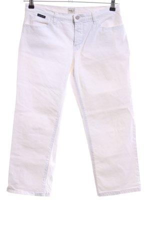 Calvin Klein Jeans 3/4 Jeans weiß Casual-Look