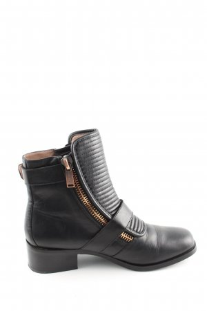 Calvin Klein Jeans Ankle Boots schwarz Streifenmuster Casual-Look