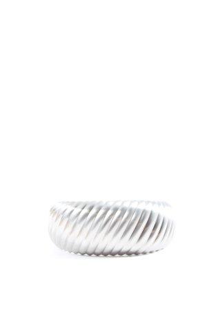 Calvin Klein Jeans Sztywna bransoletka srebrny W stylu casual