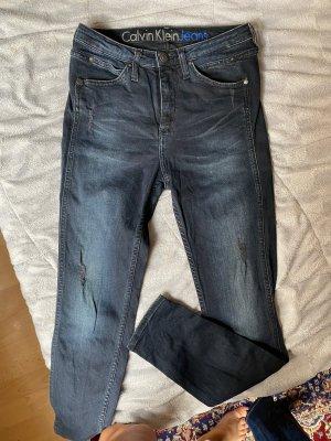 Calvin Klein Jeans Jeans skinny bleu foncé