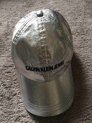 Calvin Klein Gorra de béisbol color plata